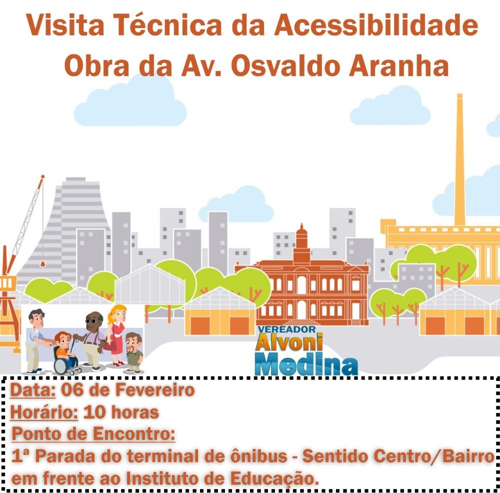 convite visita técnica